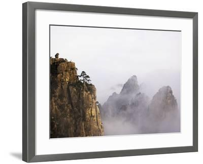 Mountains and Fog-Frank Lukasseck-Framed Photographic Print