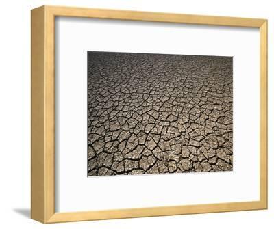 Eroding Ground of Desert-Tim Tadder-Framed Photographic Print