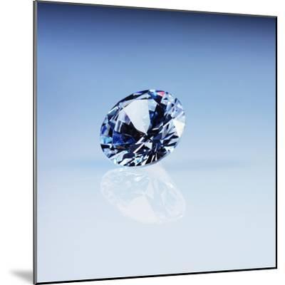Round Cut Diamond--Mounted Photographic Print