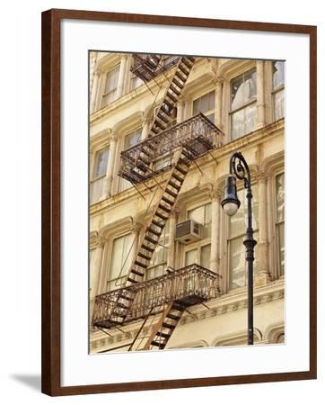 Historic Greene Street Building-William Manning-Framed Photographic Print