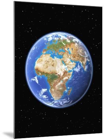 Eastern Hemisphere of Earth-Kulka-Mounted Photographic Print
