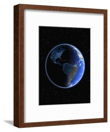 Electric Lights in the Western Hemisphere-Kulka-Framed Photographic Print