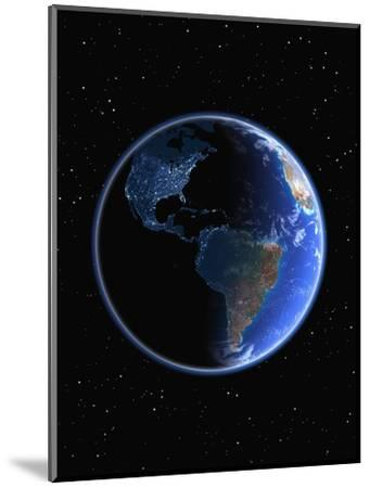 Electric Lights in the Western Hemisphere-Kulka-Mounted Photographic Print