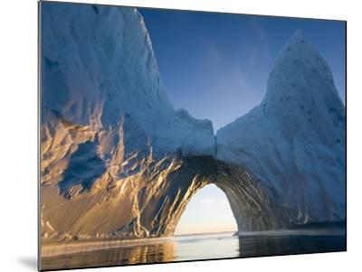 Arched Iceberg in Ililussat-Paul Souders-Mounted Photographic Print