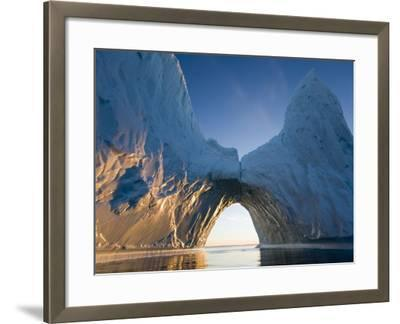 Arched Iceberg in Ililussat-Paul Souders-Framed Photographic Print