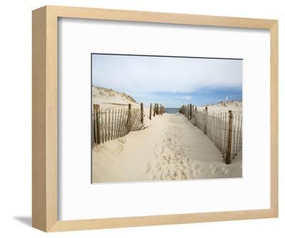 Quiet Beach-Stephen Mallon-Framed Photographic Print