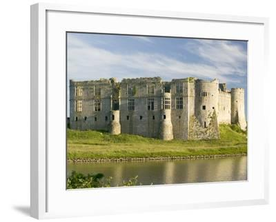 Carew Castle--Framed Photographic Print