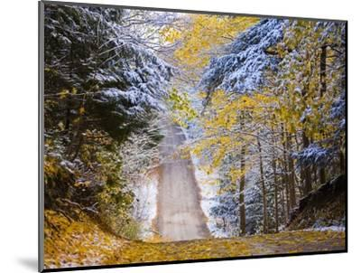 Rural road after snow-Jim Craigmyle-Mounted Photographic Print