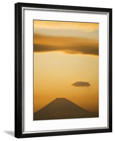 Mt. Fuji from Arasaki Point--Framed Photographic Print