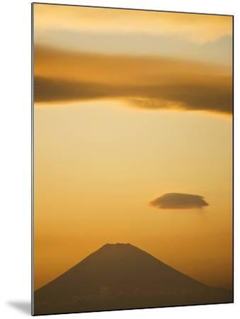 Mt. Fuji from Arasaki Point--Mounted Photographic Print