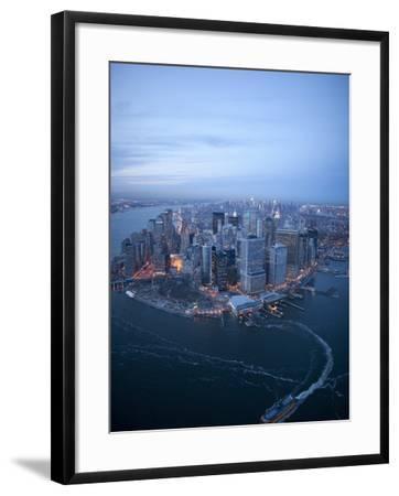 South Ferry, Manhattan-Cameron Davidson-Framed Photographic Print