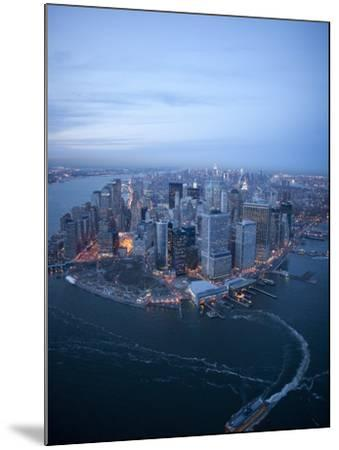 South Ferry, Manhattan-Cameron Davidson-Mounted Photographic Print