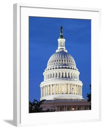 U.S. Capitol dome-Raimund Koch-Framed Photographic Print