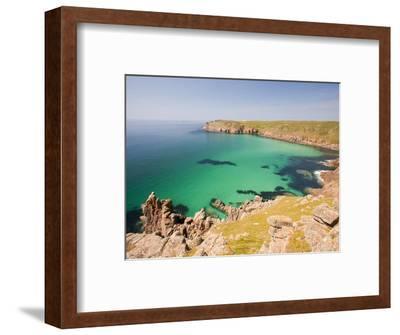 Cornish coastal scenery-Ashley Cooper-Framed Photographic Print