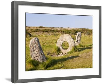 Men an Tol stone-Ashley Cooper-Framed Photographic Print