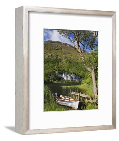 Kylemore Abbey and Kylemore Lough-Richard Cummins-Framed Photographic Print