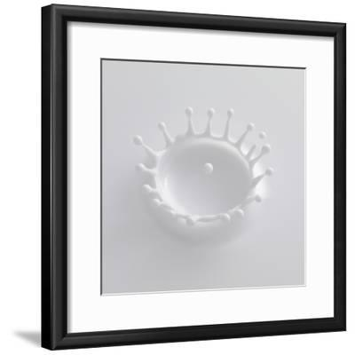 Splash of Milk-Taro Yamada-Framed Photographic Print
