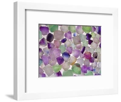Fluorite minerals-Walter Geiersperger-Framed Photographic Print