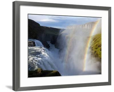Gullfoss Waterfall, Iceland-Paul Souders-Framed Photographic Print