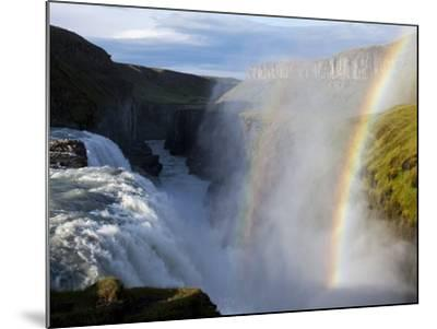 Gullfoss Waterfall, Iceland-Paul Souders-Mounted Photographic Print