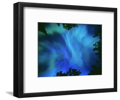Northern Lights Or Aurora Borealis, Tilton Lake, Sudbury, Ontario, Canada   Photographic Print by Mike Grandmaison | Art com