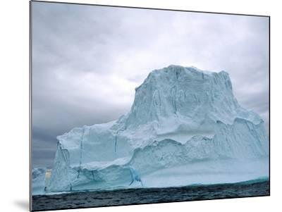 Iceberg, Witless Bay Ecological Reserve, Newfoundland, Canada-Barrett & Mackay-Mounted Photographic Print