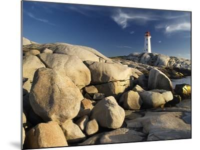 Peggy's Cove Lighthouse Nova Scotia, Canada.-Darwin Wiggett-Mounted Photographic Print