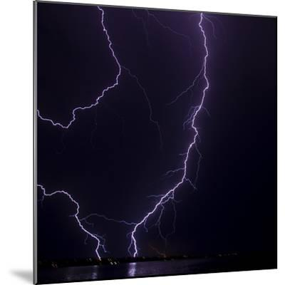 Lightning strike-Stuart Westmorland-Mounted Photographic Print