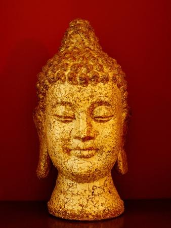 Buddha head--Framed Photographic Print
