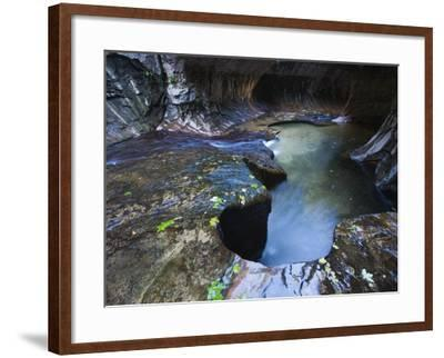 The Subway slot canyon-Roland Gerth-Framed Photographic Print