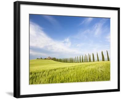Tuscan landscape-Frank Lukasseck-Framed Photographic Print