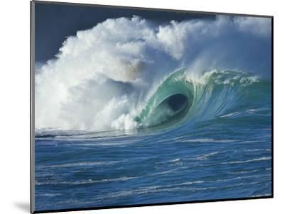 Wave, Waimea, North Shore, Hawaii-Douglas Peebles-Mounted Photographic Print