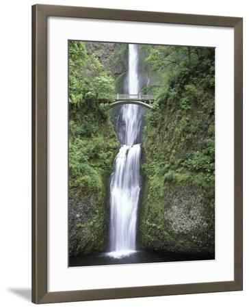 USA, Oregon, Columbia River Gorge Area, Scenic Waterfalls, Multonomah Falls-Chris Cheadle-Framed Photographic Print