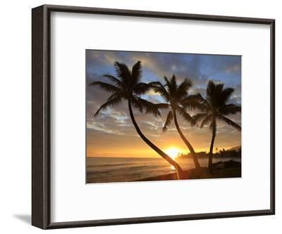 Sunrise, Windward Oahu, Hawaii-Douglas Peebles-Framed Photographic Print