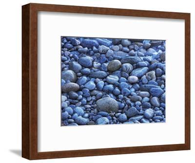 Pebble beach at Garrapata State Park-Frank Krahmer-Framed Photographic Print