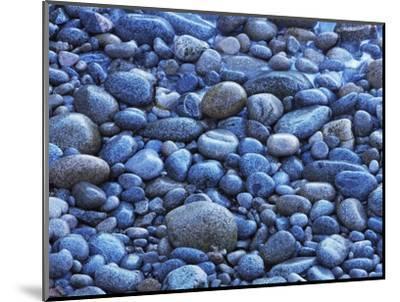 Pebble beach at Garrapata State Park-Frank Krahmer-Mounted Photographic Print