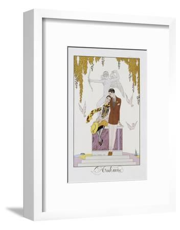 L'Automne-Georges Barbier-Framed Photographic Print