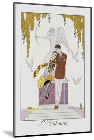 L'Automne-Georges Barbier-Mounted Photographic Print
