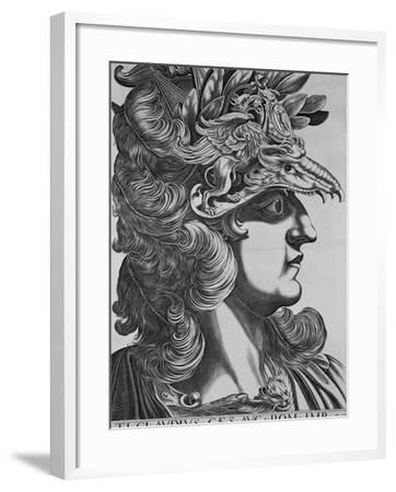 T. T. Claudius Caesar, Emperor of Rome-Antonius-Framed Photographic Print