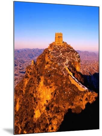Tower at Great Wall of China-Liu Liqun-Mounted Photographic Print