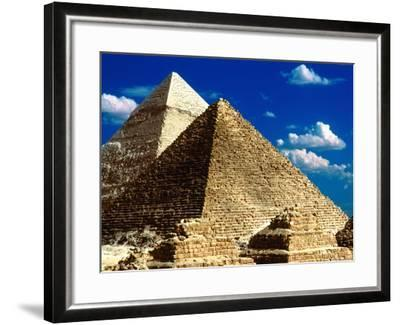 Pyramids of Giza-Larry Lee-Framed Photographic Print