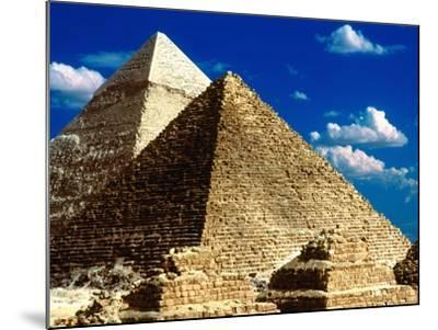 Pyramids of Giza-Larry Lee-Mounted Photographic Print