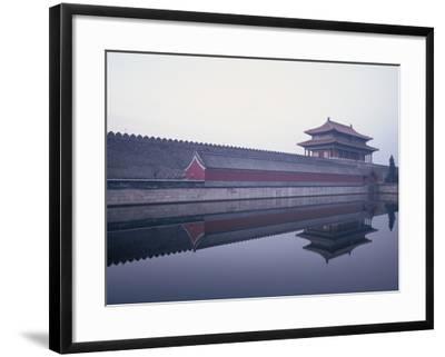 Moat Surrounding Forbidden City-Yang Liu-Framed Photographic Print