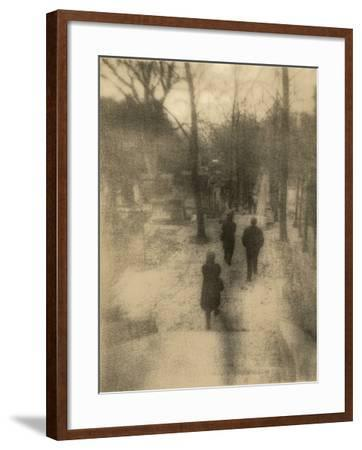 People Walking-Kevin Cruff-Framed Photographic Print