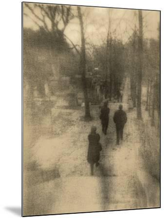 People Walking-Kevin Cruff-Mounted Photographic Print
