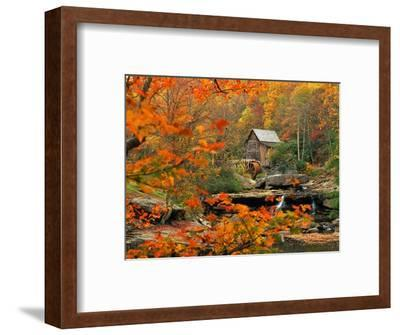 Glade Creek Grist Mill-Ron Watts-Framed Photographic Print