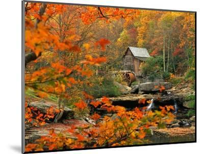 Glade Creek Grist Mill-Ron Watts-Mounted Photographic Print