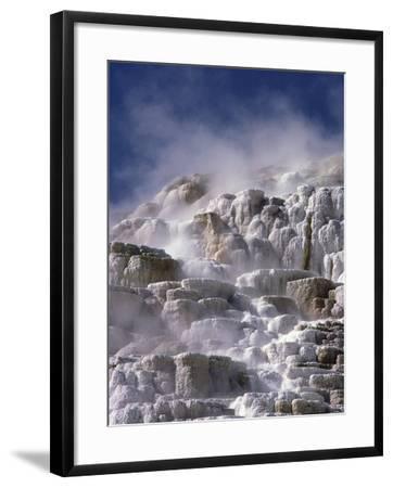 Mammoth Hot Springs-Craig Aurness-Framed Photographic Print
