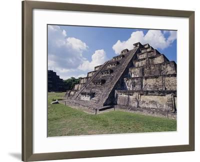 Step Pyramid at El Tajin Archaeological Site-Danny Lehman-Framed Photographic Print