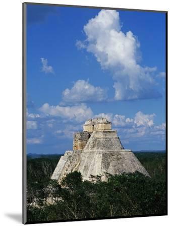 Pyramid of the Magician at Uxmal-Danny Lehman-Mounted Photographic Print